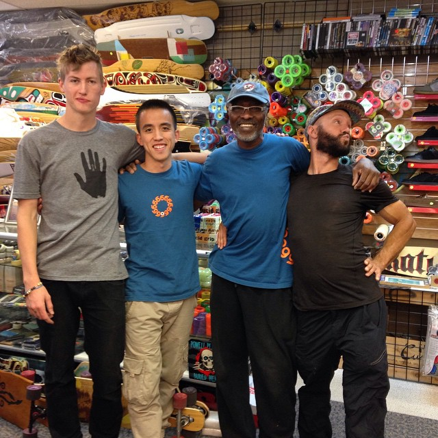 Dropping by All Boards Sports in Boulder!
