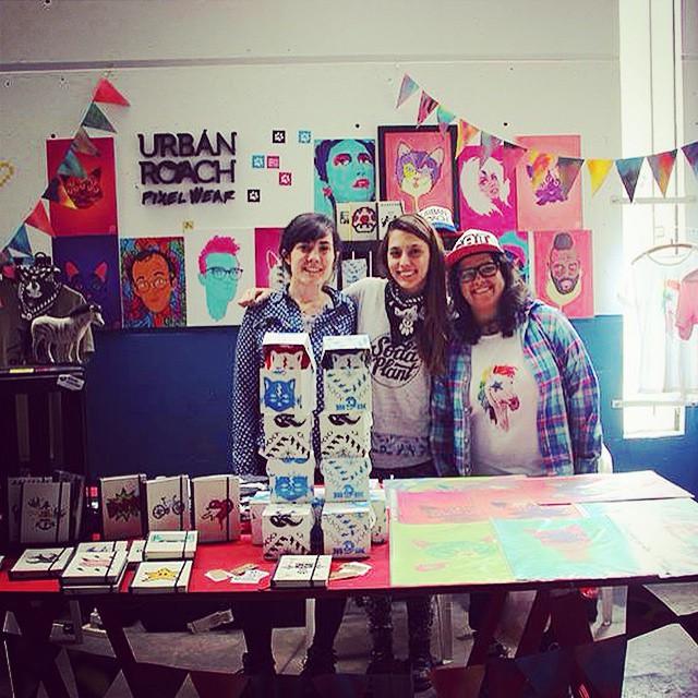 Hay equipo @trimarchidg #TMDG14 @ponydiabolico #stand #pixelart #pixelwear