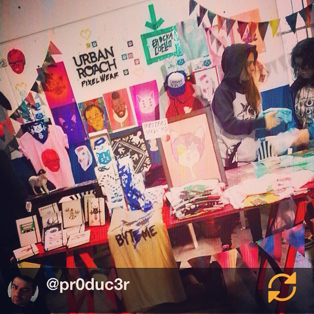 RG @pr0duc3r: #PixelWear es tendencia #TMDG14 #regramapp gracias Lea