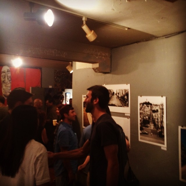 @bonzing Flying Hi Art Exhibition is popping off!  #bonzing #sanfrancisco #skateboarding #shapers #artists