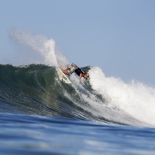 The #HurleyPro went hard!  Relive the excitement with us today at 4 pm ET/2 pm PT on ABC. (Photo via Getty Images)