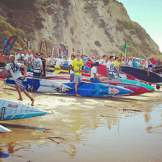 #battleofthepaddle day two just underway! #jellyskateboards #jellylife #danapoint #saltcreek || Photo: @danapointtimes