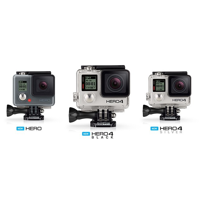 The new GoPro HERO4 camera. Be inspired by the most advanced GoPro cameras yet.  Get your's today: http://gopro.com/products