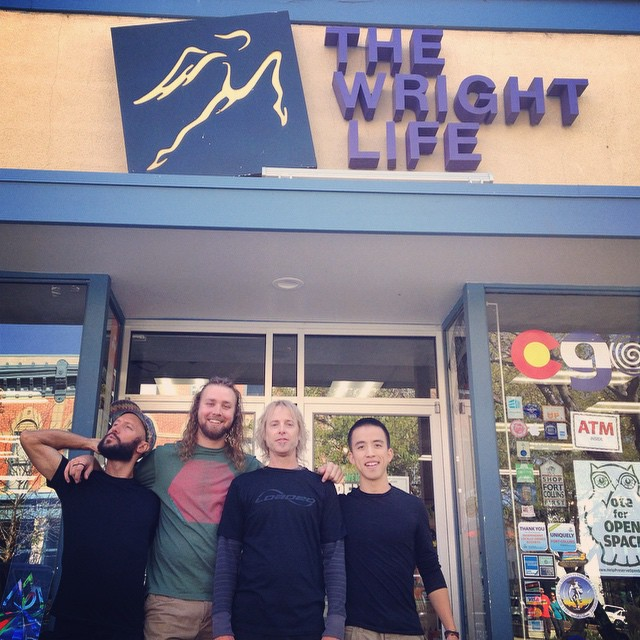 We just visited our awesome friends at Wright Life in Fort Collins! Now off to @boardlifeusa in Denver to help teach some riding clinics... Will we see you there?
