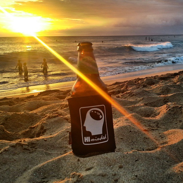 "Ziggy Marley said it best ""wish u were here with me... on a beach in Hawaii"". Aloha #himinded #maui #hawaii #bobmarley #buylocal #beach #ocean #surfapparel #surfing #surf #waves #koozie #surfcompany #sunset #ziggymarley #beachinhawaii #aloha"