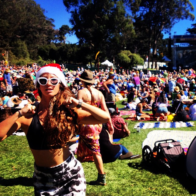 Sneak peek of what's to come for our #kindafancy Christmas #video.  Get ready to live.  #hardlystrictly #sanfrancisco #bikini #surf #dance #sundayfunday