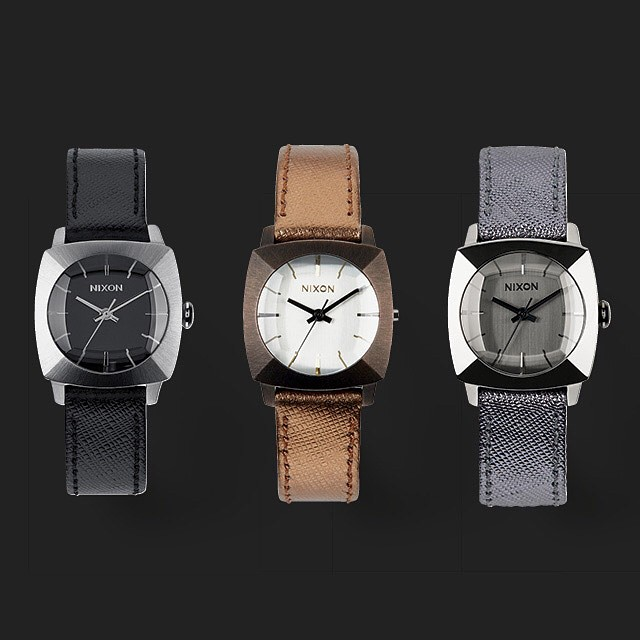 Show and tell.  Introducing The Luca, new from Nixon. #theluca #nixon