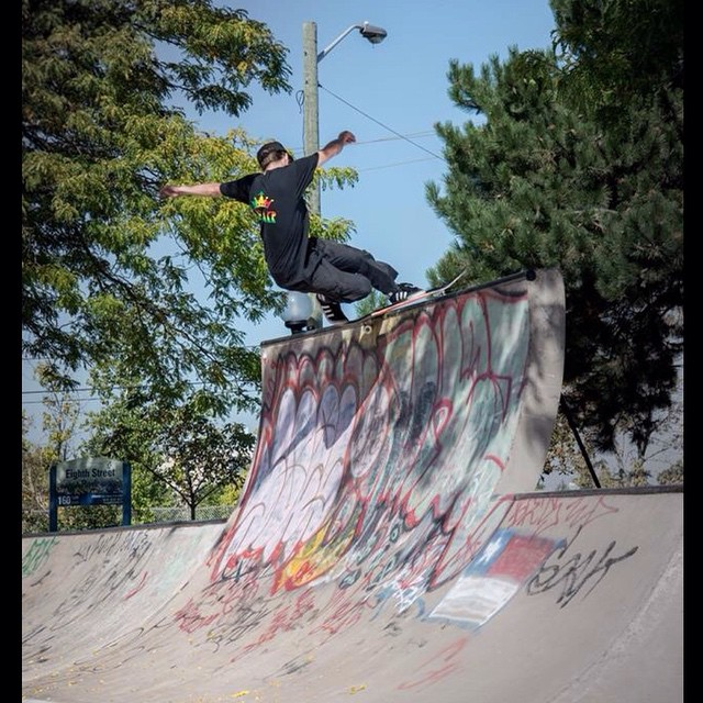 @_jensen_7 rockin it frontside full force! Captured by @jahdabo #calibertrucks