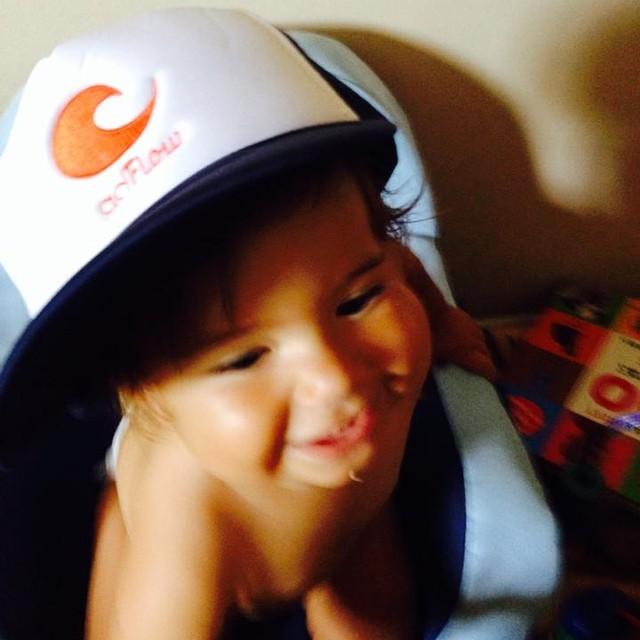 This little guy is killing it with his goFlow trucker hat. Watch out ladies!!! #steez #goFlowModel
