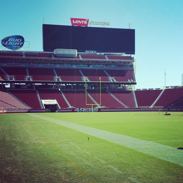 The new 9ers stadium is fresh. #49ers #sanfran #nfl