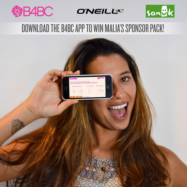 "#BreastCancerAwareness Month is here, and @maliamanuel + B4BC are giving you a reason to put health education at your fingertips!  Just download the free #B4BC app for iTunes and Google Play then enter your email address under ""SIGNUP"" for a chance to..."