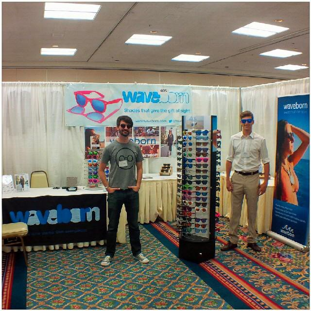Come visit us at booth #405. We are at the San Diego Apparel Show today and tomorrow.