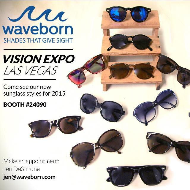 We will be at Vision expo west next week. Sept 17th - 20th. Come by and see our 2015 lineup!!