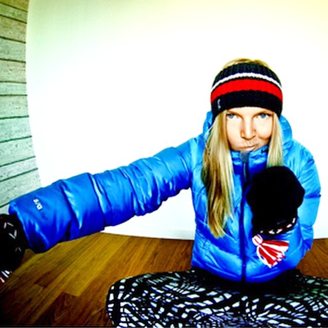 @croymm getting ready for winter with the BETTY DOWN HOODY. Check it out at http://bit.ly/10KuxXi