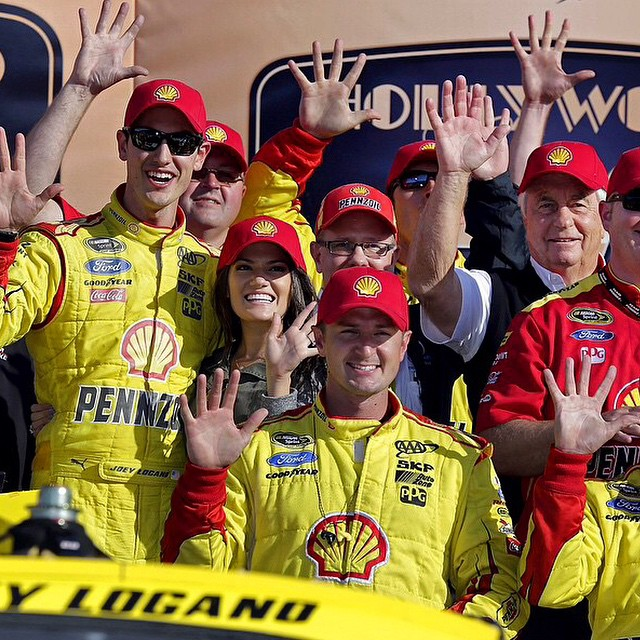 #regram from @joeylogano and @joeyloganofdn | #TeamJL gets its 5th win of the season, yeah buddy! @warrenvigus keep crushing