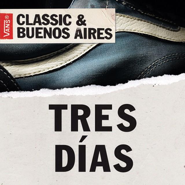 Te quedan 3 días para participar del #ClassicBuenosAires. Podés ganarte un viaje a NYC y conocer la House Of Vans de Brooklyn Bases: www.classicbuenosaires.com.ar