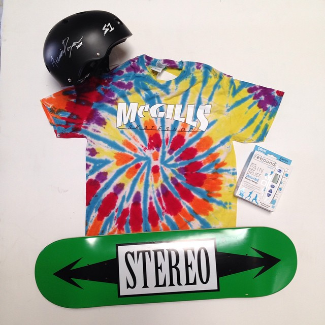 Last call for a signed lifer helmet , mcgill's shop tshirt a stereo deck (8.25) and a reboundactiv electro therapy thing that helps with muscle pain. It is all here at the s1 helmets warehouse ready to shop to a lucky winner. To enter just repost and...