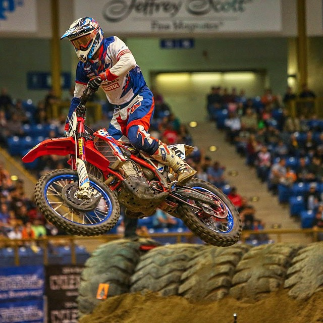 In a stacked field of racers that included greats Taddy Blazusiak and Coddy Webb, our own @MaxGerston barely missed the podium at this weekends AMA EnduroCross Event in Denver, Co. He is currently sitting in 5th place in the overall points chase. Good...