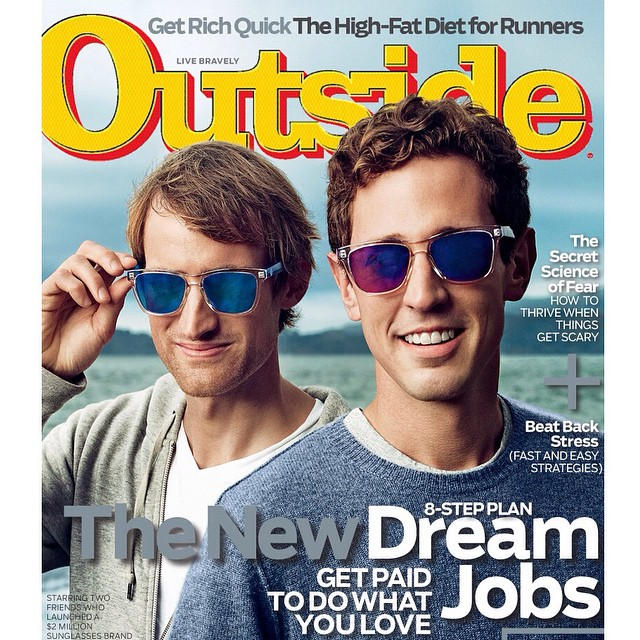 Thank you @outsidemagazine & @joepug for this incredible moment! This will stay with us forever!