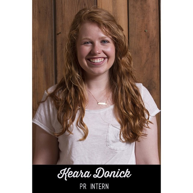 Keara Donick interned with us for the Summer 2014 semester. She came early, stayed late and went above and beyond anything we could've imagined.  Thank you, thank you, thank you!  Keara's Q&A is online now!