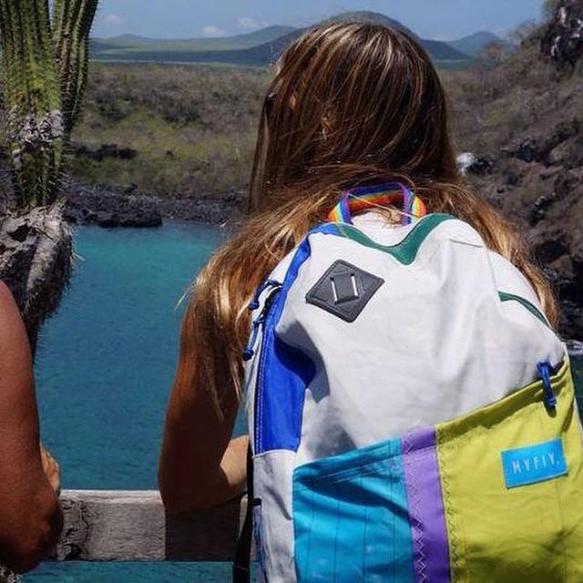 Pika con su Sail Pack by @mafiabags  @agustinacerruti www.mafiabags.com