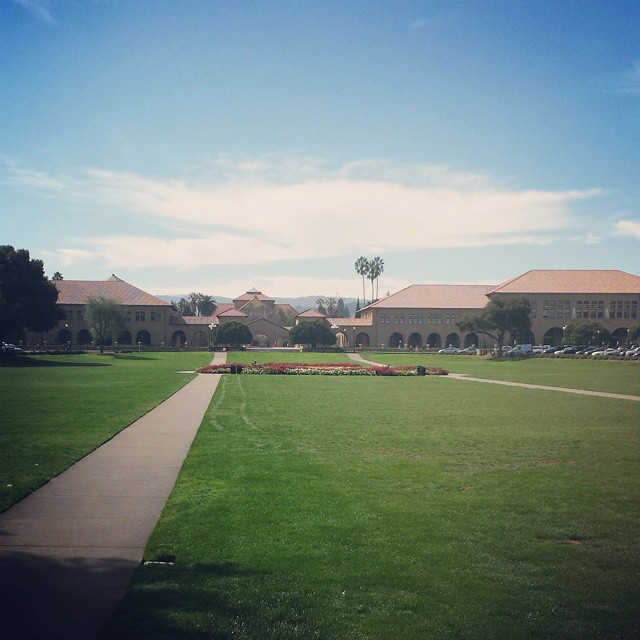 Spent the day at #Stanford and we're speechless. This school is frustratingly awesome.  #Cali #innovation