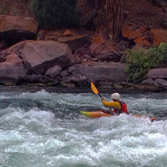 Here's to learning new things with rad people! Definitely not my last time in a kayak! #westminsteroutdoors