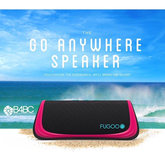"""Have you seen the new B4BC x @FugooLife collab speaker!? Be sure to use the code """"B4BC"""" at checkout and they will donate 10% back to B4BC! Fugoo is one of our official B4BC Campus Tour sponsors, helping to keep us on the road for our educational..."""