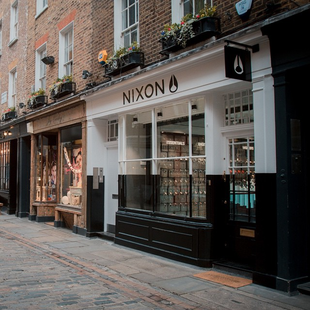 Now Open.  Introducing Nixon Carnaby, London. Featuring Nixon's customization bar, where you can create your own one-of-a-kind watch.  Nixon London: 6 Newburgh St Carnaby, London W1F 7RQ +44 (0) 2074344519  Photos and more information on...