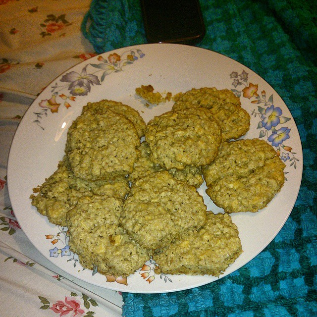 Galletitas de avena con #chocolate blanco #Milka #cookies #buenosaires #sanisidro #argentina