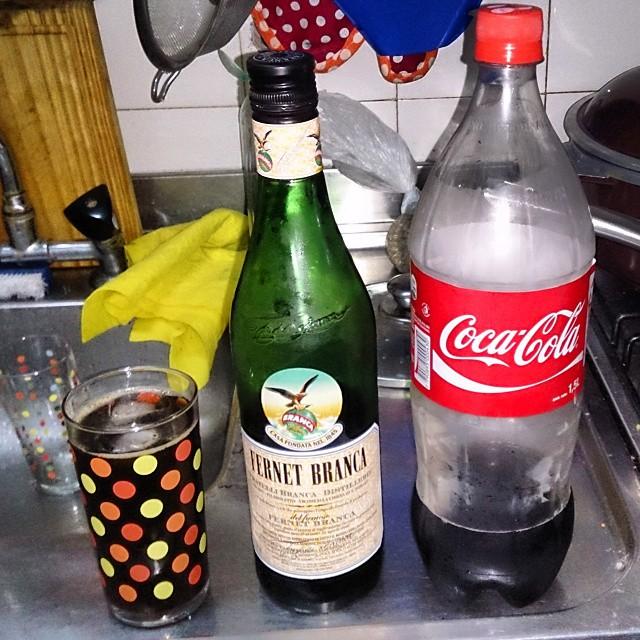 Hora de un #fernet con #CocaCola