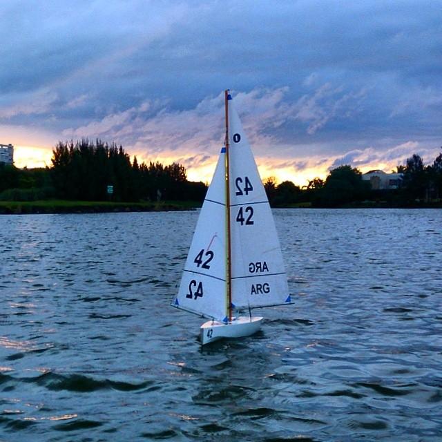 Mi uly navegando en #nordelta. El domingo