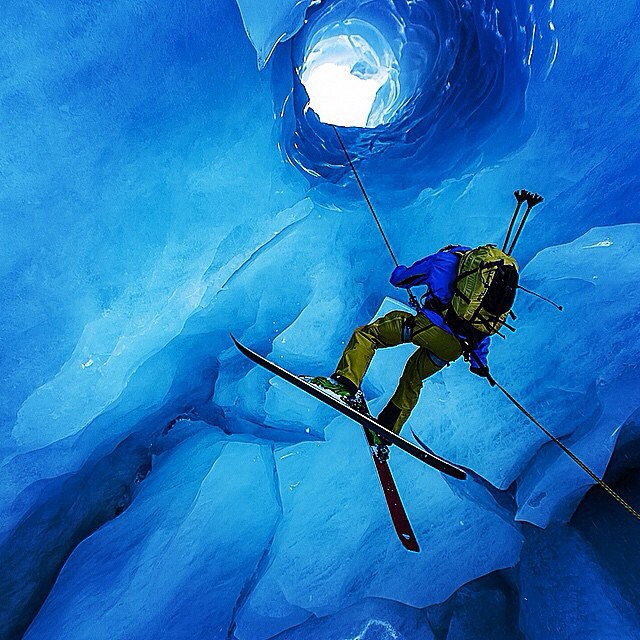 "Not afraid to head down the rabbit hole, Cody Barnhill takes his Magic Ski Wands for an icy adventure on the Worthington Glacier while filming ""From the Road"" with Fisher Creative last Spring. Watch the full featured film on October 15th at..."