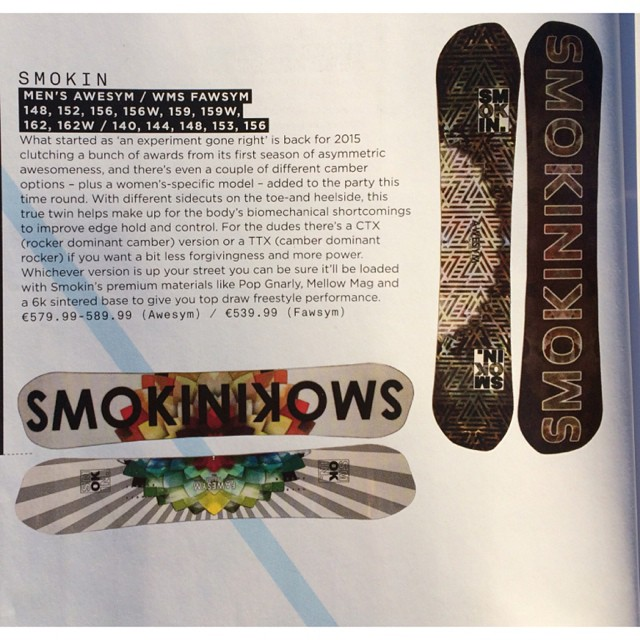 The first issue of @onboardmag just got here, and it's looking like the European mags are coming our swinging. Thanks for the write ups on our Awsym boards, and the one on our #superparkltd . @nial_romanek ad has proper placement near the front too-...