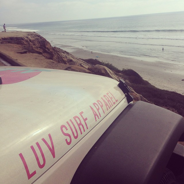 The places we will go #luvtruck #wearthecalidream #dayonthejob #luvsurf