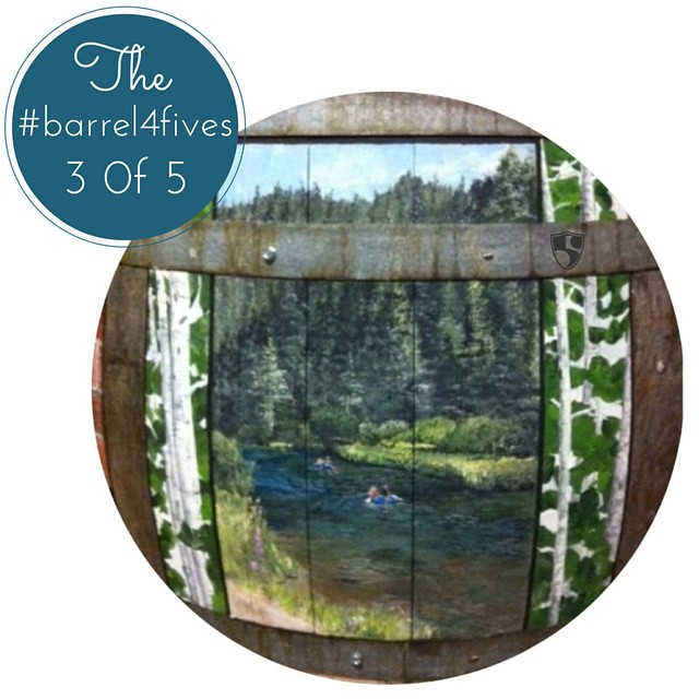 Local artist Erin Kielty, #truckeeriverwinery & Hi5s are auctioning off Erin's hand painted barrel depicting 5 scenes from the Truckee/Tahoe Area. We will be releasing each of her picturesque scenes between now and when the auction ends, Oct. 12th |...