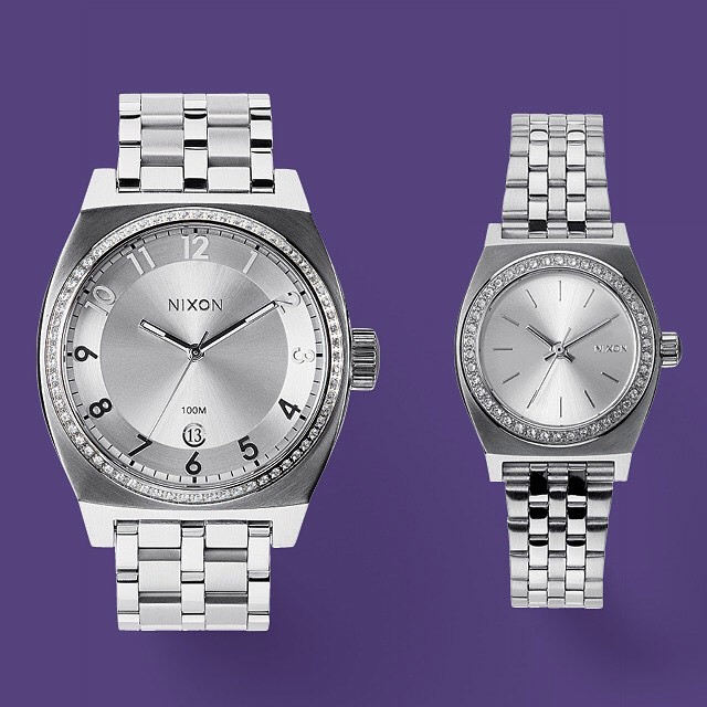 A hint of shine and a touch of distressing reveals imperfections that make for perfect.  Introducing The Shimmer Collection, new from Nixon. #nixon