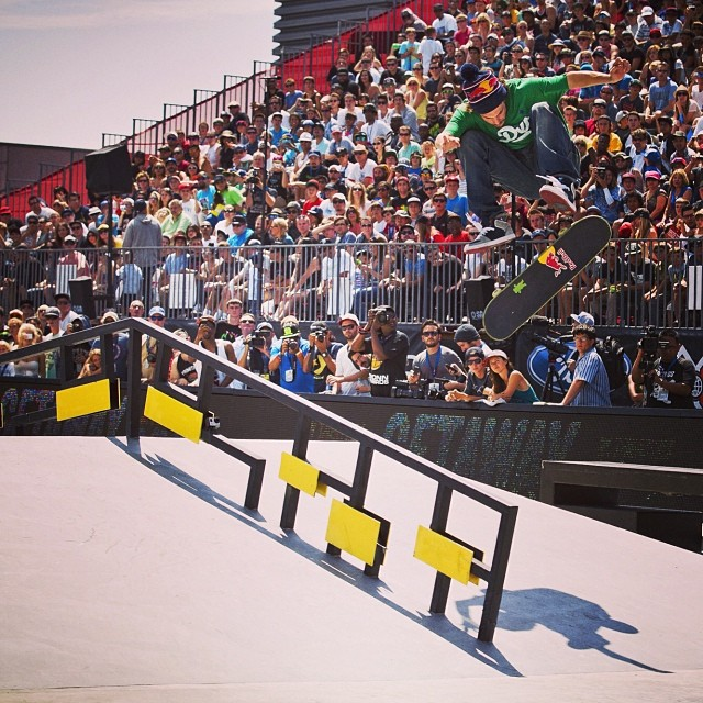 @toreypuds in LA #xgames (Photo @espn_images )
