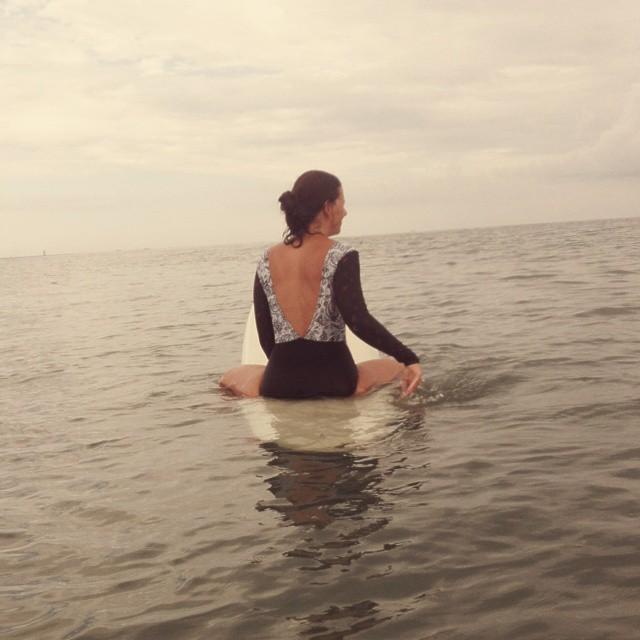 #AkelaSurf Designer Annie Gagne one piece Paisley
