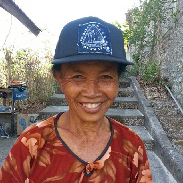 New batch of @projectcleanuluwatu collab hats are in, available at PCU headquarters in Uluwatu. All proceeds go towards keeping Uluwatu clean and beautiful