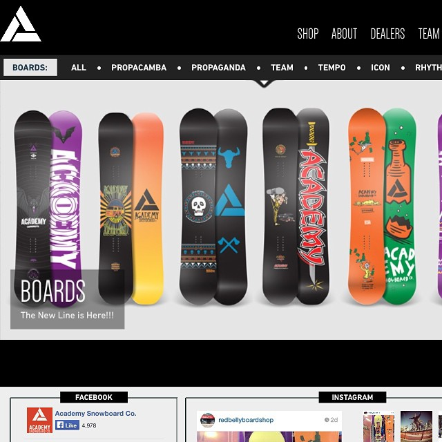 Go check out the new site at Academysnowboards.com to get ready for the season with a new stick or to just watch videos!! Be sure to sign up for our newsletter to stay in the Academy loop!! #academykidsrule #goodpeople #greatsnowboards #winteriscoming...