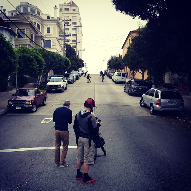 #Freebord Shoot in #SF