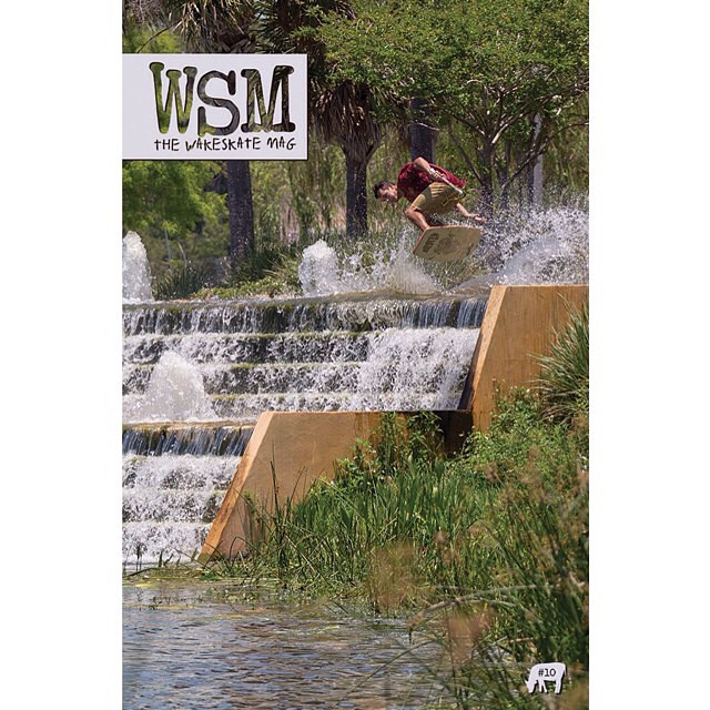 Throwback to Team rider @chaboy_bammer landing the from cover of @thewakeskatemag // homie is killing it //