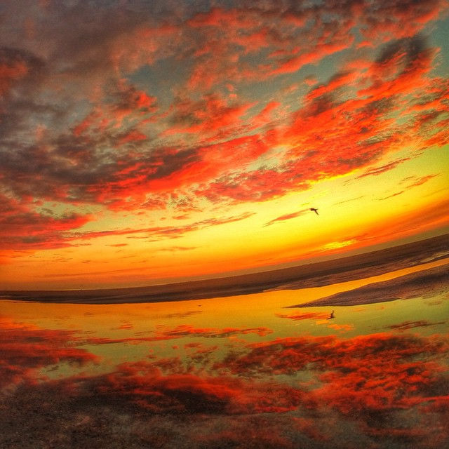 Enjoy life #carver #gopro #sunset