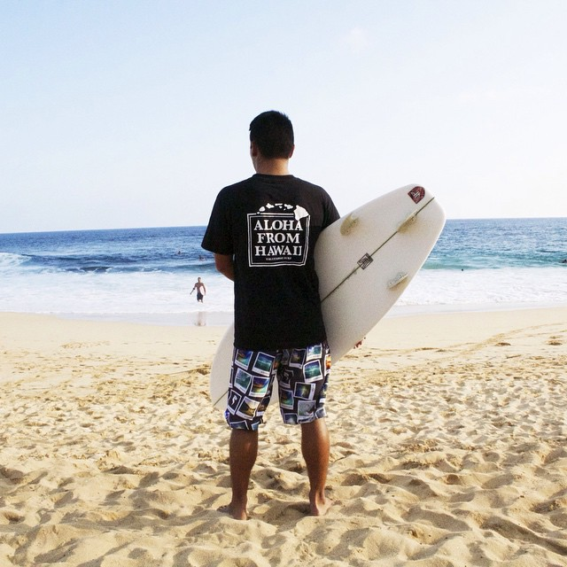 Activist @niiro_photography sporting our most recent pair of boardshorts: the Sandy Beach Collection. If you haven't gotten yours yet, then head over to norepboardshorts.com! | PC: @edsongonzalez_