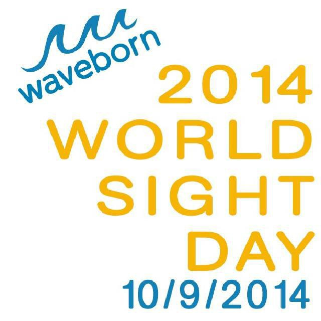 World Sight Day (WSD) is an annual day of awareness held on the second Thursday of October, to focus global attention on blindness and vision impairment. World Sight Day 2014 is today, October 9 2014.  All of us at Waveborn believe in paying it forward...