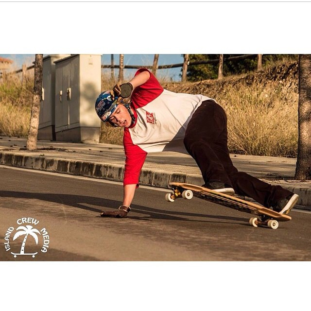 Team rider @thecontee with a blunt on his stalker v2. This dude has rad style!  #dblongboards #longboards #longboarding #stalker #dbstalker #stalkerv2 #surfrodz #sZ #precisiontrucks #style #blunt #bluntslide