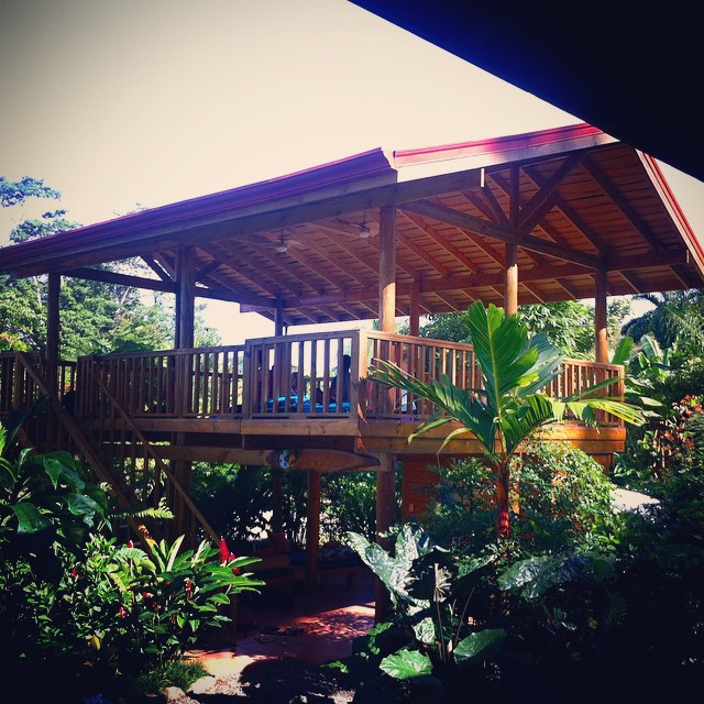 How many of you have enjoyed the Bodhi Shambala Yoga Center? Your place to practice yoga in the community of Bahia Ballena!
