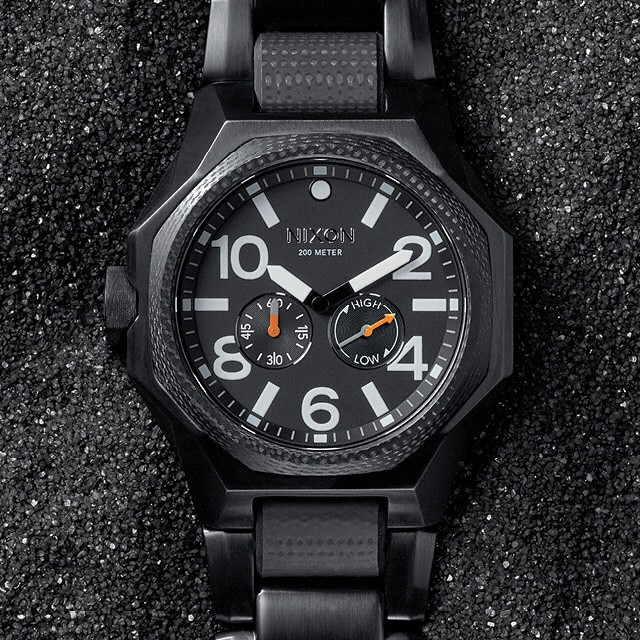 Equipped for the mission.  The Tangent, now available from Nixon. #thetangent #nixon