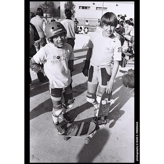 @steviecab & Rodney Mullen #BonesBrigade